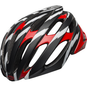Bell Stratus MIPS Helm vertigi matte/gloss black/red/white
